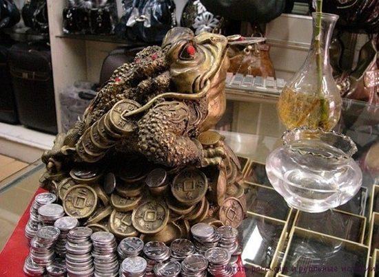 жаба деньги фэн шуй фото